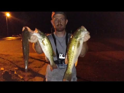 My First Night Bass Tournament ( Lake Norman)