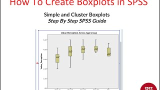 Boxplot SPSS - كيفية إنشاء Boxplot في SPSS