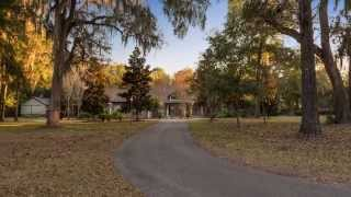 Spectacular Gainesville, Florida Private Estate on 10 Acres, offered at $1,295,000
