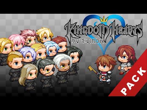 RPG Maker MV - Kingdom Hearts Resources PACK [Demo Included]