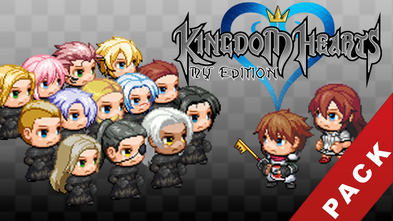 RPG Maker MV - Kingdom Hearts Resources PACK [Demo Included]