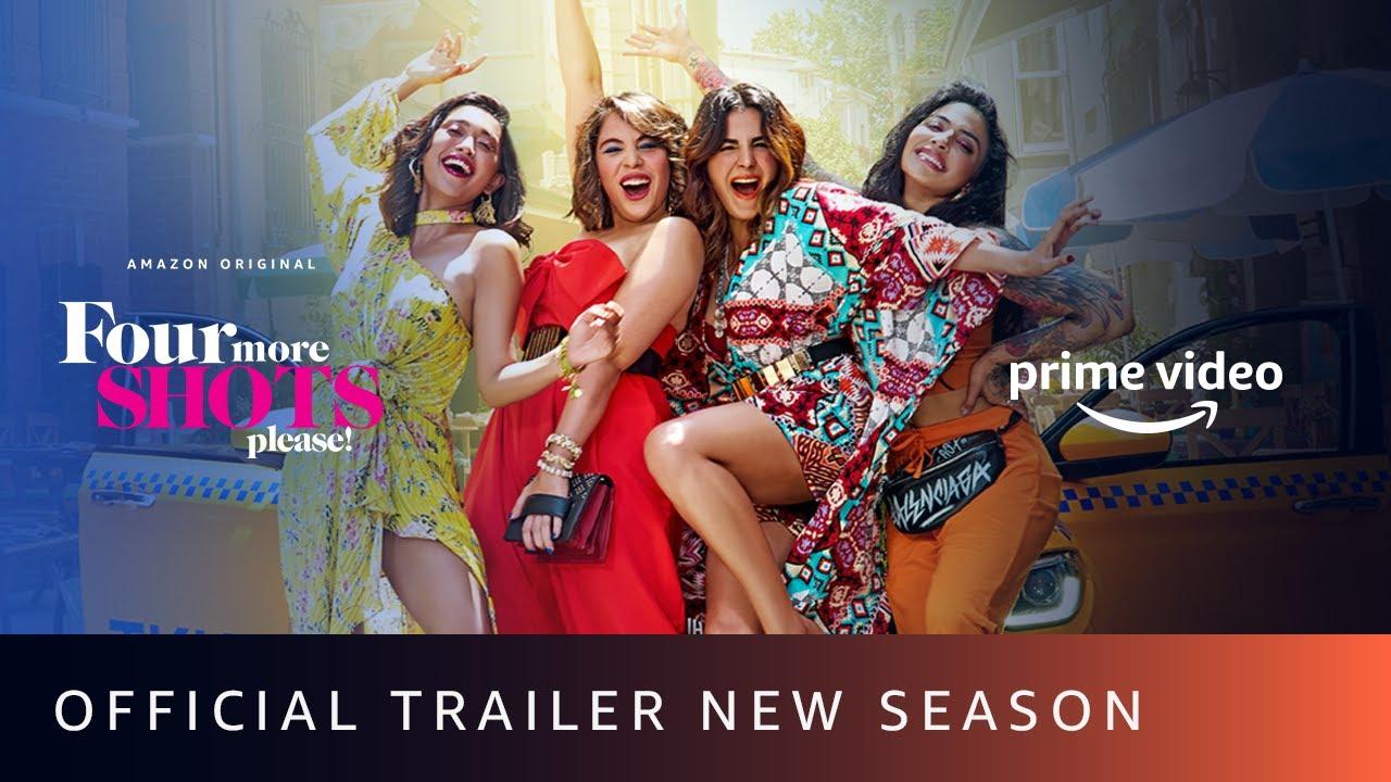 Download Four More Shots Please - New Season Trailer | Sayani, Kirti Kulhari, Bani J, Maanvi Gagroo |April 17