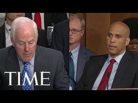 Cory Booker Breaks Senate Rules To Release Confidential Documents On Brett Kavanaugh | TIME