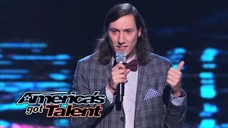 Darik Santos: Awkward Comic Impresses With One-Liners - America's Got Talent 2014 thumbnail