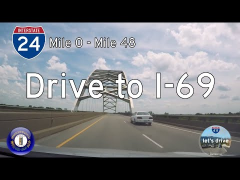 Interstate 24 - Mile 0 to Mile 48 - Kentucky |  Drive America's Highways 🚙