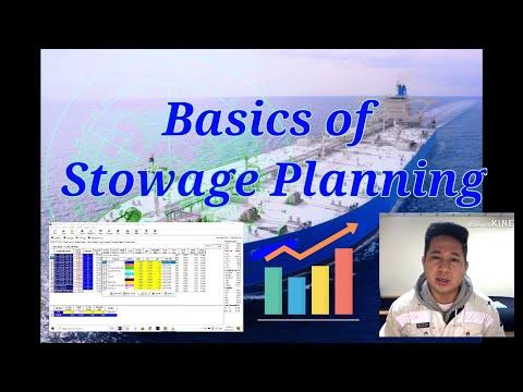 Basics of Stowage Planning on Oil Tanker Vessel