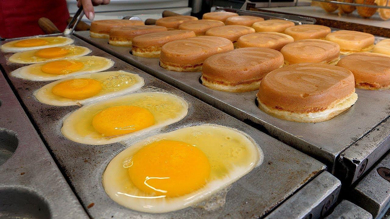 4계절 장사하는 천원 계란빵 / korean egg bread - korean street food
