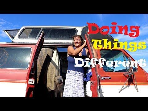 Deversity. ... Camper Top On Van & Hidden Shower