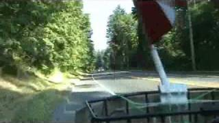 Comox To Courtenay & Back Wild Scooter Rides With RDT!!