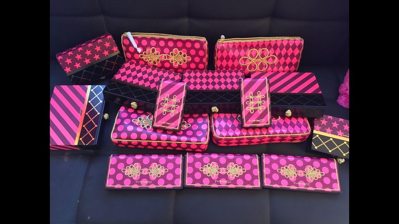MAC Nutcracker Sweet Holiday Gift Sets - YouTube