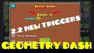 Geometry Dash 2.2 Editor Preview! Zoom,Random and more...