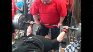 Jason Lawson 700lbs. PR Bench Press - SLP Body Shop Fitness Bench Press and Deadlift Championships