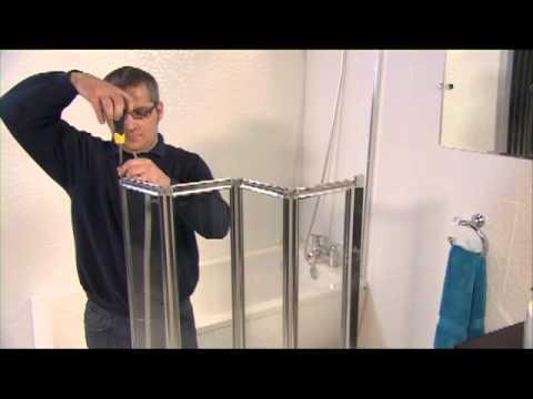AQUA 4 4-Fold Bath Screen Installation Video