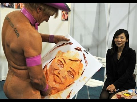 Meet Pricasso – The Artist Who Paints With His Private Parts
