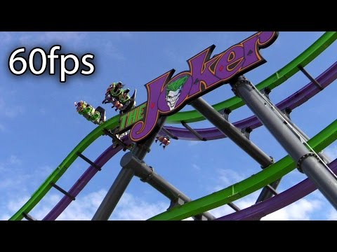 The Joker Off-ride HD @60fps Six Flags Great Adventure