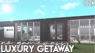 ROBLOX | Bloxburg: No Gamepass Luxury Getaway 102k