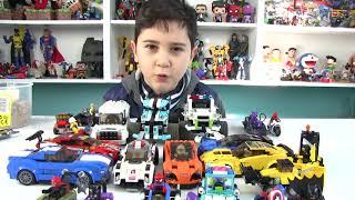 LEGO Oyuncak Arabalar Kum Testinden Geçiyor