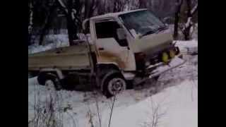 Toyota Hiace грузовик танк(, 2013-11-29T14:36:37.000Z)
