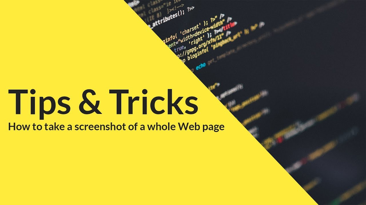 How to Take A Screenshot Of A Whole Web Page in Chrome | HINDI