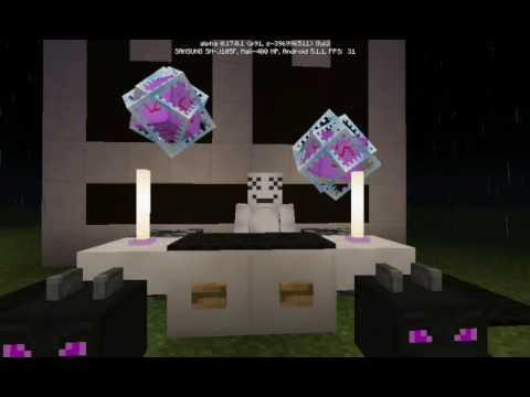 Marshmello Alone Versi Minecraft Pe YouTube - Skin para minecraft pe de marshmello