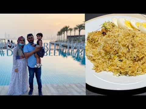 Weekend Vlog | Easy Chicken Dum biriyani & Visit to Dubai Creek Harbor