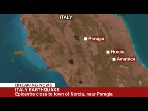6.2 Earthquake In Italy Kills At Least Two!