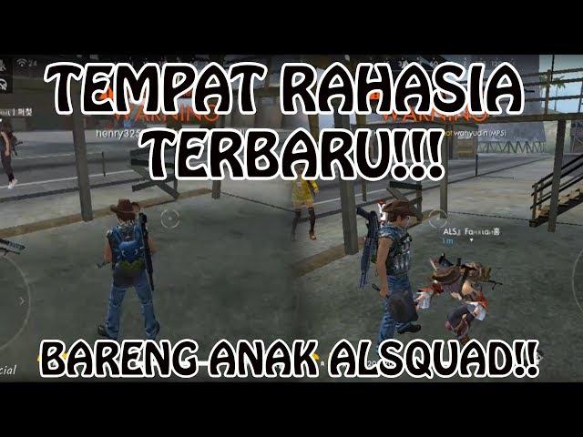 TEMPAT RAHASIA KEREN DI FREE FIRE!! (FREE FIRE INDONESIA)