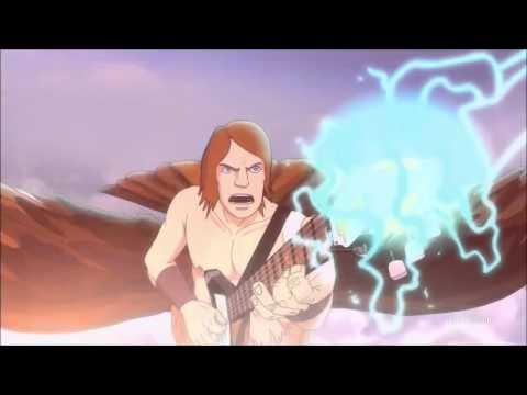 Metalocalypse The Doomstar Requiem Toki Skwisgaar Guitar Duel