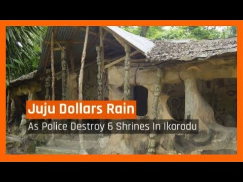 Nigeria News Daily: Juju Dollars Rain As Police Destroy 6 Shrines In Ikorodu (21/09/2017)
