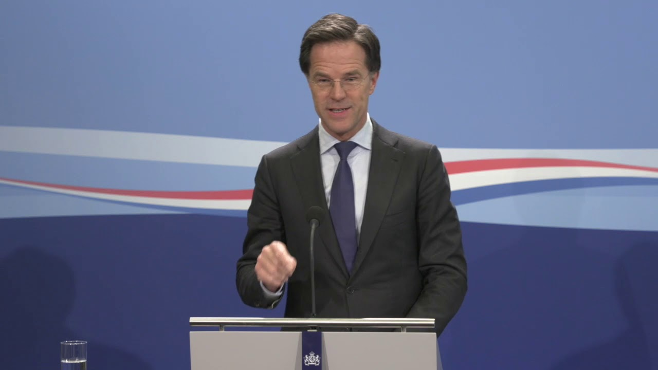 Integrale Persconferentie MP Rutte Van 24 April 2020