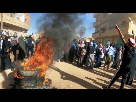 Month-Long Protests Plunge Sudan into Crisis