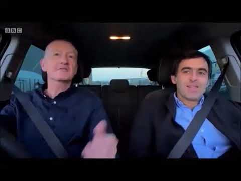 The Real Number one George Tierney as Steve Davis chattin with Ronnie O Sullivan  - parody
