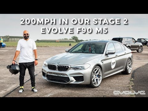 Hitting 200MPH In Our Stage 2 F90 M5 At VMAX200