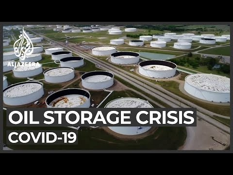 World lacking space to store unused oil amid COVID-19 crisis