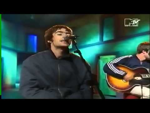 Oasis - Whatever Acoustic MTV 1994 HD