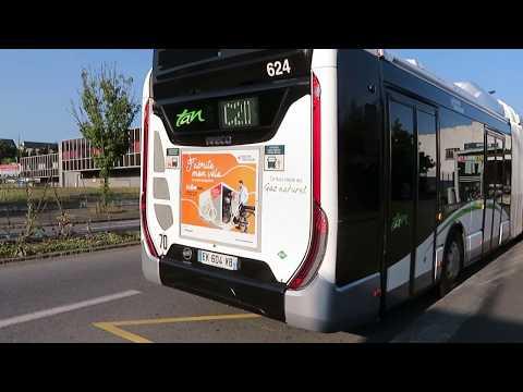 IVECO UrbanWay 18 CNG Voith #624 | Ligne C20 | Réseau TAN de Nantes