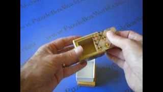 Repeat youtube video The 2 Sun 7 Step Koyosegi Japanese Puzzle Box
