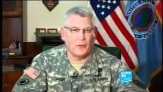 US Army General Carter Ham at a Pentagon briefing