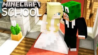 Minecraft School - LITTLE LIZARD GET'S MARRIED!?