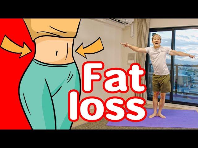 [4分ラジオ体操] 内臓脂肪と皮下脂肪を燃やす専用エクササイズ!