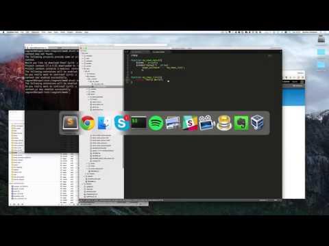 How to create a custom module in Drupal 7 and using hook_menu