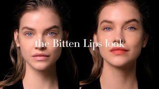 The BITTEN LIPS look starring Barbara Palvin - Giorgio Armani