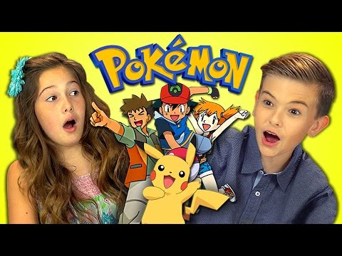 Thumbnail: KIDS REACT TO POKEMON (Retro TV)