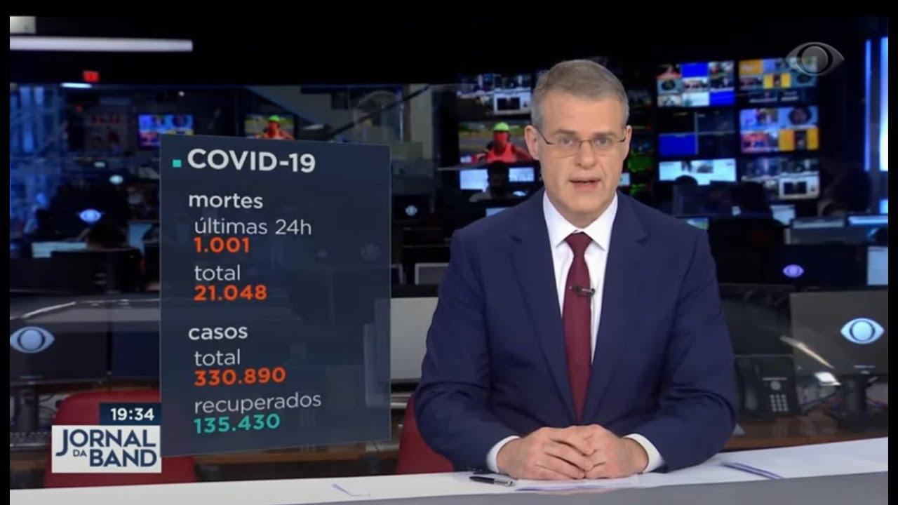 Notícias - Coronavírus: Brasil registra 1.001 mortes em 24 horas - online