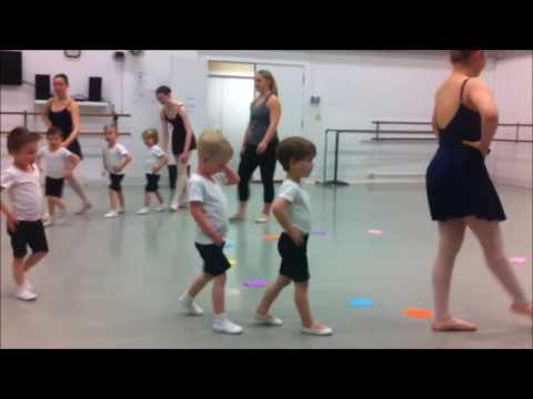 Theo's Boy Ballet Class