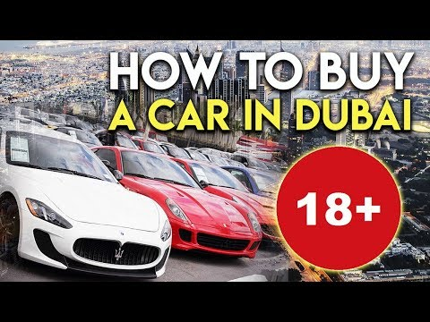 How to buy a car in Dubai. UAE driving license.