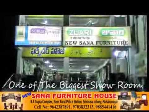 Mahabubnagar SANA FURNITURE RK Ads  9985551589