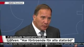 """Löfven: """"Jag hade velat ha informationen tidigare"""" - Nyheterna (TV4)"""