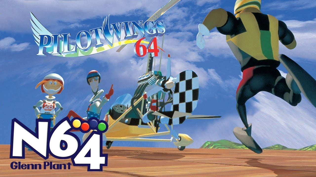 PilotWings 64-cover game/ top game n64