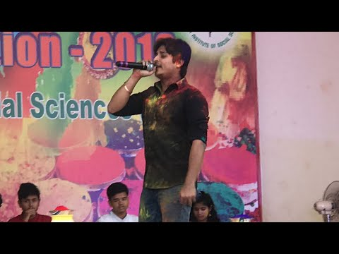 Tu Dhire Dhire Chal Re Samaya by Babushan Mohanty At KISS Holi Celebration